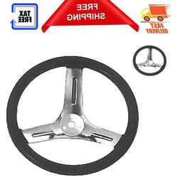 Maxpower 10-Inch Steering Wheel for Go-karts Parts and Acces