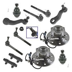 12 Piece Steering & Suspension Kit Ball Joints Tie Rods Whee