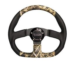 Grant 1204 Camo & Black Gripper D-Shaped Steering Wheel