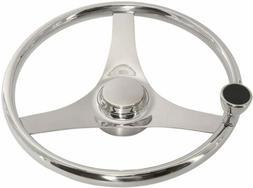 13.5''Marine Boat Steering Wheel 3 Spoke Sports Steering Whe