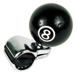 Custom Accessories 16258 Black 8-Ball Style Steering Wheel S