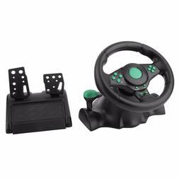 180 Degree Rotation Gaming Vibration Racing <font><b>Steerin