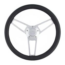 Grant 1902 Billet Series Leather Steering Wheel with Ford Lo