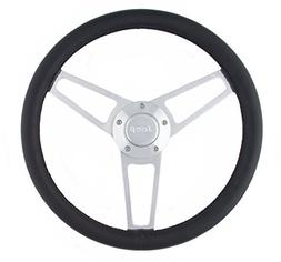 Grant 1904 Billet Series Leather Steering Wheel with Jeep Lo
