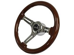 1974 - 1995 4x4 Sport Wood Mahogany Finish Steering Wheel Ki