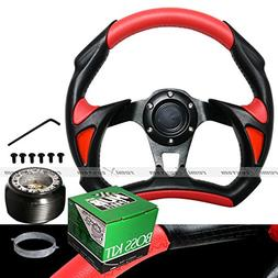 1994-2001 Acura Integra Battle 320mm Red Steering Wheel with