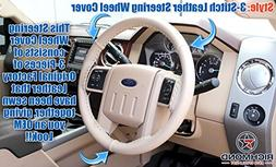 2008 Ford F250 F350 F450 F550 Lariat -Leather Wrap Steering