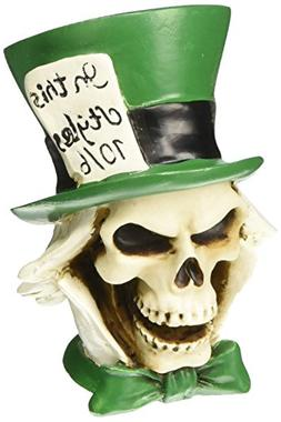 American Shifter 26 Mad Hatter Skull Custom Shift Knob/Toppe