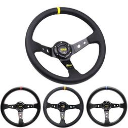 3 Colors 14inch 350mm Car omp <font><b>Steering</b></font> <