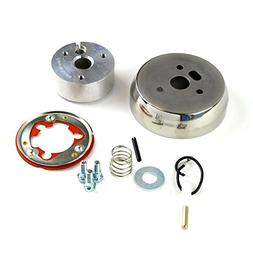 3-Hole Polished Hub Adapter Installation Kit A02 For Afterma