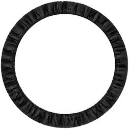 Custom Accessories 31100 Black Stretch-On Steering Wheel Cov