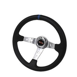 GODSNOW 350mm Deep Dish 6 Bolt Steering Wheel Universal Cust