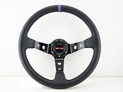 350mm deep dish steering wheel 6 bolt