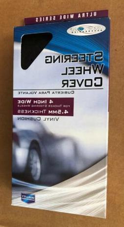 Custom Accessories 37000 Ultra-Wide Series Black Steering Wh