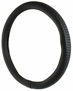Custom Accessories 39763 Black Braided Steering Wheel Cover