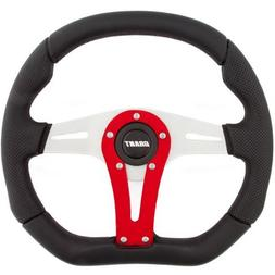 Grant 495 D-Series Racing Wheel with Red Vertical Spoke