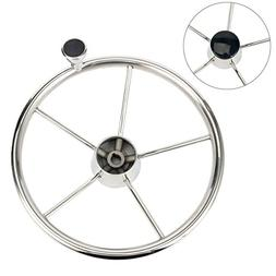 Amarine-made 5-spoke 13-12 Inch Destroyer Style Stainless Bo