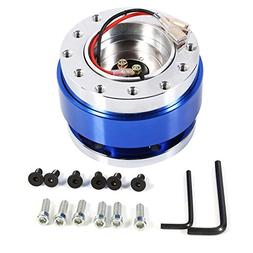 6 Hole Steering Wheel Quick Release Hub Adapter Snap Off Bos