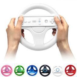 6 Color Racing Steering Wheel For Nintendo Wii Mario Kart Co