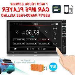 7 Inch Car 2 DIN Multimedia MP5 Player 12V <font><b>Radio</b