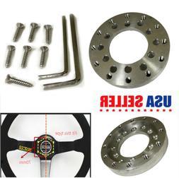 70MM Aluminum Steering Wheel Adapter Plate for Logitech G25