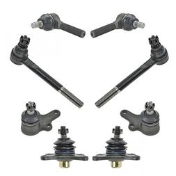 8 Piece Kit Ball Joint Tie Rod End LH RH Set for 89-95 Toyot