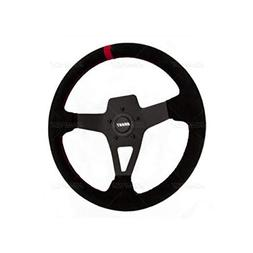 Grant 8521 Edge Series Black Suede Steering Wheel, 1 Pack