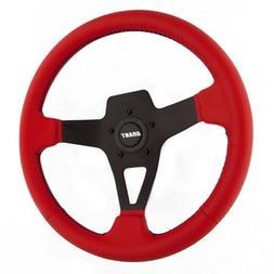 Grant 8525 Edge Series Red Vinyl Steering Wheel, 1 Pack