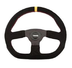 Grant 8548 Suede Series D-Shaped Racing Steering Wheel with