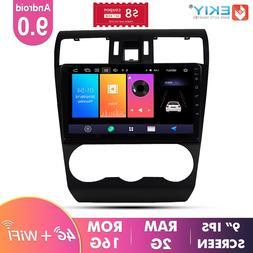 EKIY 9'' IPS Car Multimedia <font><b>Radio</b></font> Auto A