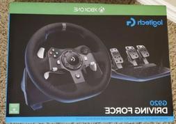 Logitech G920 Dual-Motor Feedback Driving Force Racing Wheel