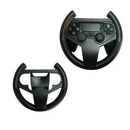 Black Steering Wheel Controller Racing Game Gamepad For PS4