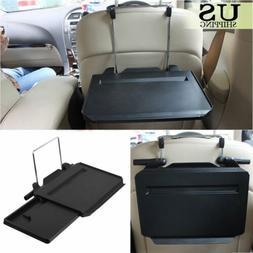 Car Steering Wheel Back Seat Tray Desk Laptop Table Folding