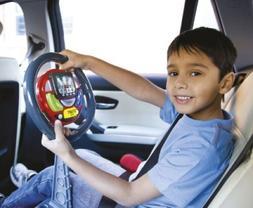 Driving Simulator Toy Steering Wheel Play Pretend Horn Engin