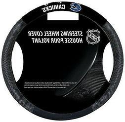 Fremont Die NHL Poly-Suede Steering Wheel Cover