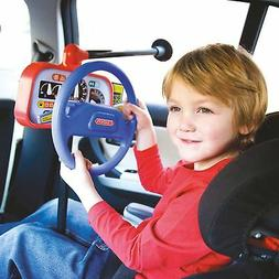Kids Car Back Seat Backseat Driver Steering Wheel Toy Child