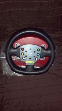 Logitech MOMO Force Feedback Steering Wheel w/ Pedal System