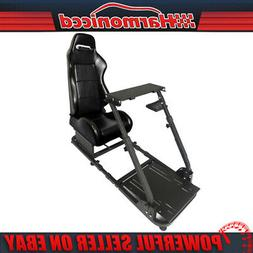 Racing Seat Simulator Steering Wheel Stand Logitech G29 Thru