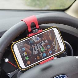 Rienar Mobile Phone Holder Mount Clip Buckle Socket Hands Fr