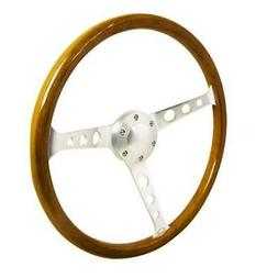 Spec-D Tuning SW-W-102 360 mm Wooden Steering Wheel 4 x 16 x