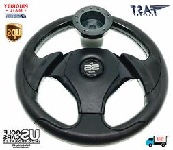 Yamaha Drive and G16-G22 Black on Black Steering Wheel with