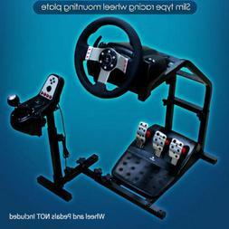 Adjustable Racing Simulator Steering Wheel Stand for Logitec