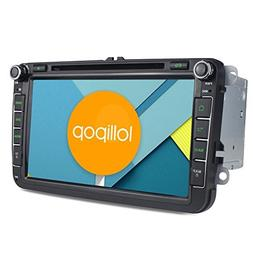 JOYING Android 5.1.1 Lollipop Car Stereo Quad Core 8 inch 2