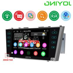 "JOYING Android 8.1 2 din car radio stereo GPS 9"" HD screen a"