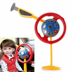 Baby Kids Pretend Play Travel Colorful Flash Simulation Stee