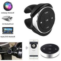 Bluetooth Media Audio Music Remote Control Button Car Steeri