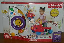 FISHER PRICE LAUGH & LEARN STRIDE-TO-RIDE LEARNING WALKER OR
