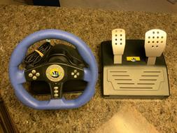 BRAND NEW Cobra TT Racing Steering Wheel With Pedals For Pla