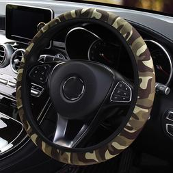 Camouflage Car <font><b>Steering</b></font>-<font><b>wheel</
