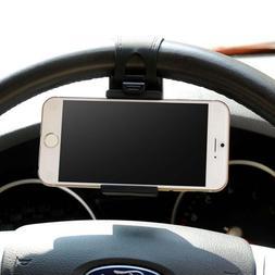Car <font><b>Phone</b></font> Holder Mounted on <font><b>Ste